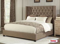 9246 Burlap Taupe Bed