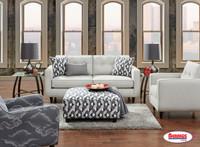 1850 Grande Linen-Dover Street Living Room