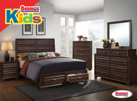 6236 Ant Walnut Juvenil Bedroom