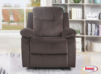 75915 Urbi Power Recliner | Chocolate