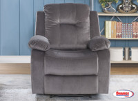 U1294 Oyster Power Recliner | Grey