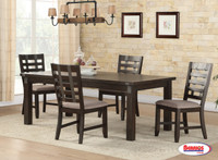1127 Cocoa Dining Room Set