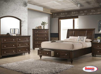 773 Casey Dark Brown Bedroom
