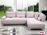 6817 White Sectional
