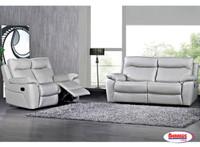 3523 Light Grey Recliner Living Room Sets
