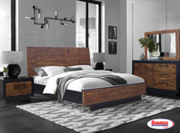 421 Industrial Brushed Bedroom