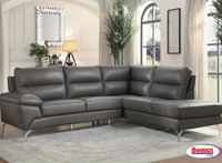 9969GY Cairn Gray Sectional Living Room