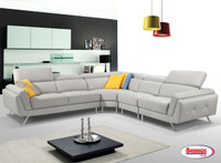 2516 Light Grey Sectional Living Room