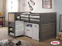 200 Grey Ubber Loft Bed