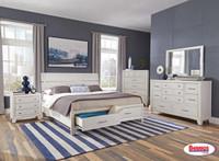 8130A Milk White Bedroom