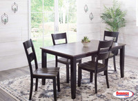 8207 Charcoal Ebony Dining Room