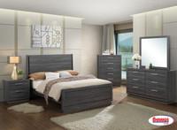 LH132 Black/Grey Bedroom