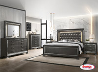 9751 Charlotte Metal/Grey Bedroom