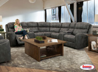 59940 Oatman Charcoal Living Room