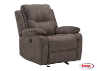 77478 Emerson Power Rocker Recliner | Smoke