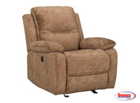 77479 Emerson Power Rocker Recliner | Glider Chocolate