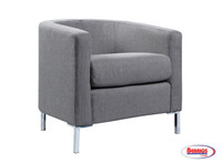 63264 Durian Accent Chair Gray