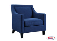 63270 Essie Heirloom Accent Chair Blue