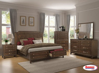 C8027A Brown Bedroom