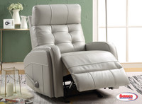 71768 Platinum Recliner with Glider