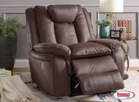 72096 Power Recliner Chocolate