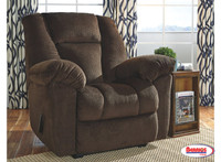 78654 Recliner Zero Wall Nimmons Chocolate