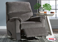 78665 Zero Wall Recliner Nerviano Grey