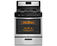 60539 | Whirlpool Freestanding Gas Range with Five Burners