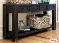 62862 Gavelston Sofa | Console Table