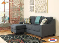 60804 Shayla Gray Sofa Chaise