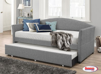London Grey Daybed with Trundle