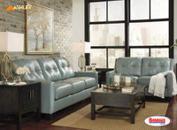 59103 O'Kean Sky Blue Living Room