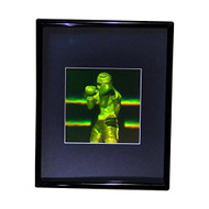 3D Boxer Multi-Channel Hologram Picture (FRAMED), Collectible Photopolymer Type Film