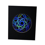 DNA Multi-Layer 2D3D Hologram Picture(MATTED), Collectible Embossed Type Film