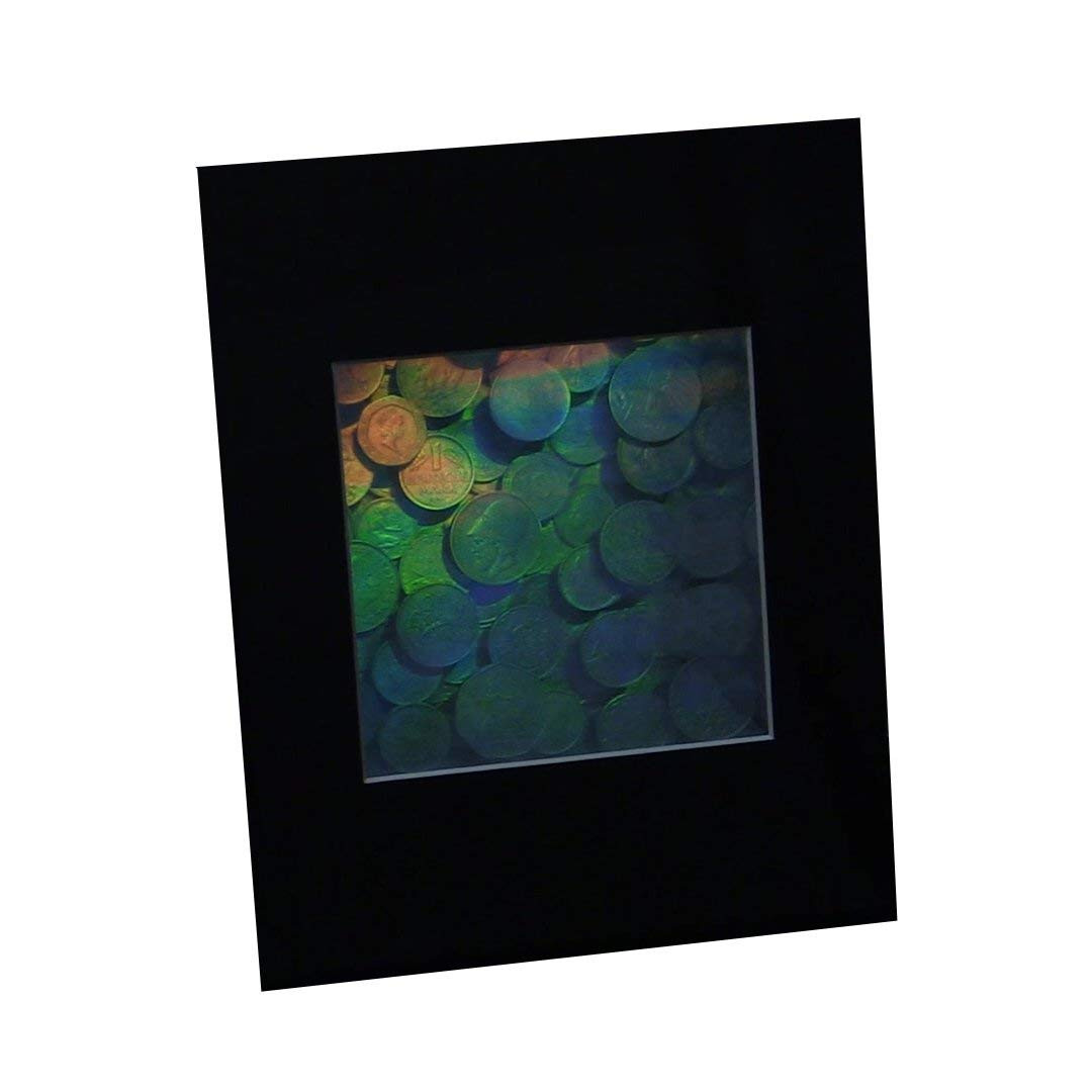 Hologram Picture MATTED EMBOSSED Type Film Achromate 3D Egyptian Queen