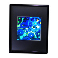 3D GEARS Hologram Picture(FRAMED), Collectible EMBOSSED Type Film