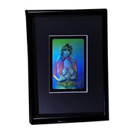 3D HoloBabe Stereogram 3D Hologram Picture (FRAMED), Collectible Embossed Type Film
