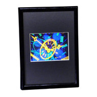 TIME Hologram Picture (FRAMED), 3D Collectible Embossed Type Animated Stereogram