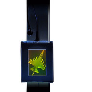 F-16 Fighter Jet 2-Channel 3D Hologram Picture PHOTOPOLYMER Lighted Wall Mount