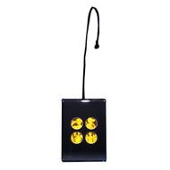 Mask 4-up PHOTOPOLYMER Hologram Picture Light Desk Stand