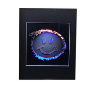 Smiley Face 2D/3D Collectible Hologram Picture - EMBOSSED - Matted