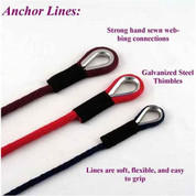 "Soft Lines 3/8"" Anchor Lines"