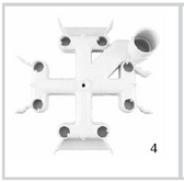 JANDY | JANDY DE TOP MANIFOLD FOR THE DEL & DEV FILTERS R0359000 | 25357-800-000