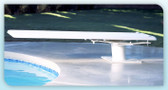 INTER-FAB | 6' TECHNI-BEAM BOARD WHITE | DIVING BOARD | TB6WW (TB6WW )