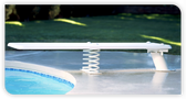 INTER-FAB | 6' BAJA JUMP BOARD WHITE | DIVING BOARD | BA6WW (BA6WW )