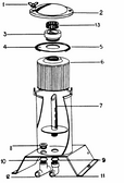 HARMSCO   STANDPIPE WITH BAFFLE FOR TF50   751