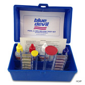 BLUE DEVIL POOL ACCESSORIES | POOL AND SPA TEST KIT 5-WAY | OTO | CHLORINE | PH | ALKALINITY | B7448