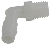 "PERMA-CAST | ADAPTER, ELBOW 1/4"" MPT x 3/8"" BARB 