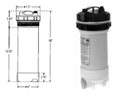 WATERWAY  | TOP LOAD FILTERS WITH BYPASS VALVE & BROMINATOR |  500-5050