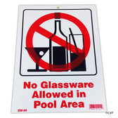 "MAINTANCE LINE | 9""x12"" NO GLASSWARE ALLOWED 